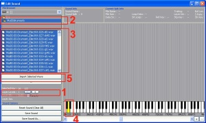 GM Sampler Player Sound Edit